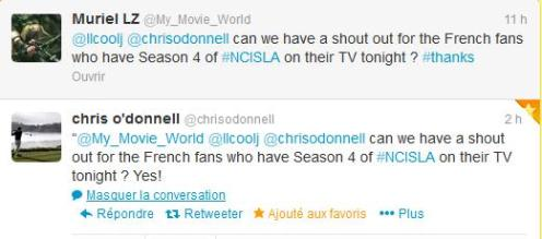 Message Chris O'Donnell
