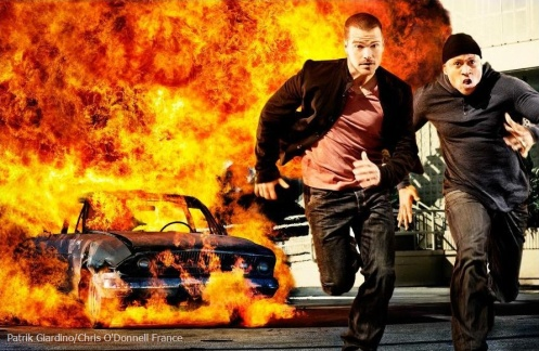 Chris O'Donnell & LL Cool J-Patrik Giardino-NCISLA shooting 03.2011 (1)