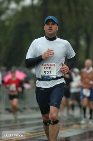 Chris O'Donnell-Los Angeles Marathon 2011