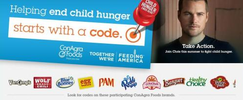 National Hunger Free Summer Day 23.05.13