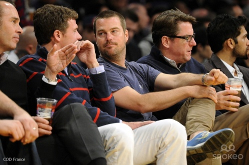 Chris O'Donnell @ Staples Center 13.02.2014