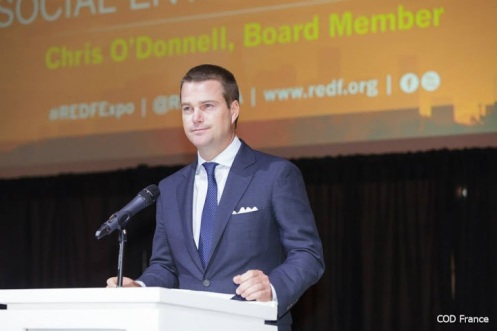 Chris O'Donnell @ 6th Annual REDF Expo 22.05.2014 (7)