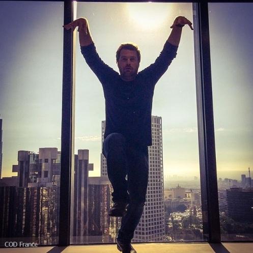 Chris O'Donnell @ Tournage saison 7 NCISLA 12.08.2015 (1)